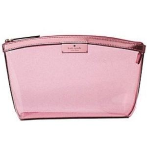 🌸NWT Kate Spade Clear Make Up Bag